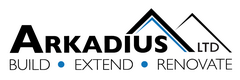 logo - Loft conversions, Extensions, Refurbishants, Bespoke Furniture, Kitchen   Bathrooms, Arkadius ltd, London